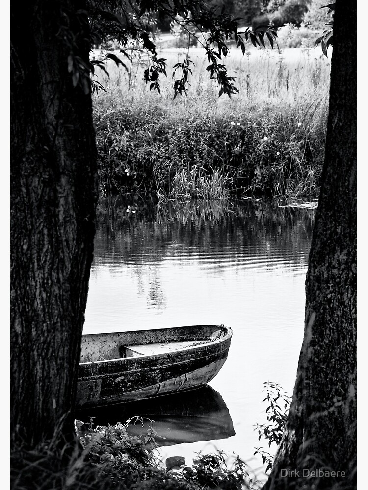boat bw by Delbaere