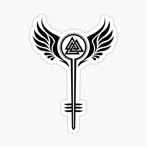 Valkyrie Symbol Sticker