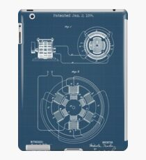 ELECTRICAL POWER TRANSMISSION blueprint iPad Case/Skin
