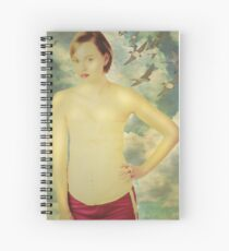 cream the butter and sugar until pale and fluffy Spiral Notebook