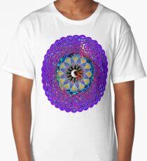 Man in the Moon Celtic Mandala Long T-Shirt
