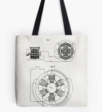 ELECTRICAL POWER TRANSMISSION patent Tote Bag