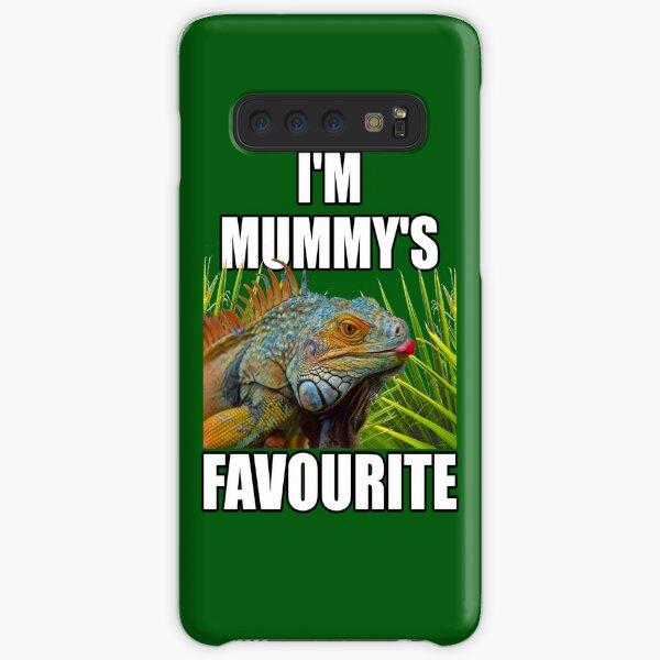 Green Iguana Mum Reptile Keeper Design Samsung Galaxy Snap Case