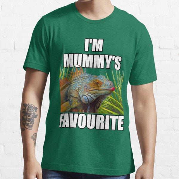 Green Iguana Mum Reptile Keeper Design Essential T-Shirt