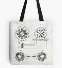 ELECTRICAL TRANSMISSION OF POWER patent Tote Bag