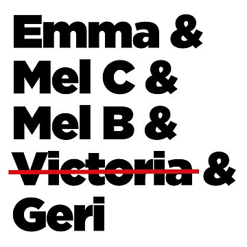 Spice Girls names by lezcopines