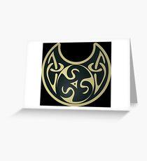 Celtic Wave Greeting Card