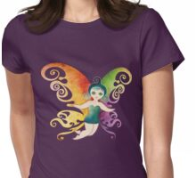Butterfly Fairy Womens Fitted T-Shirt