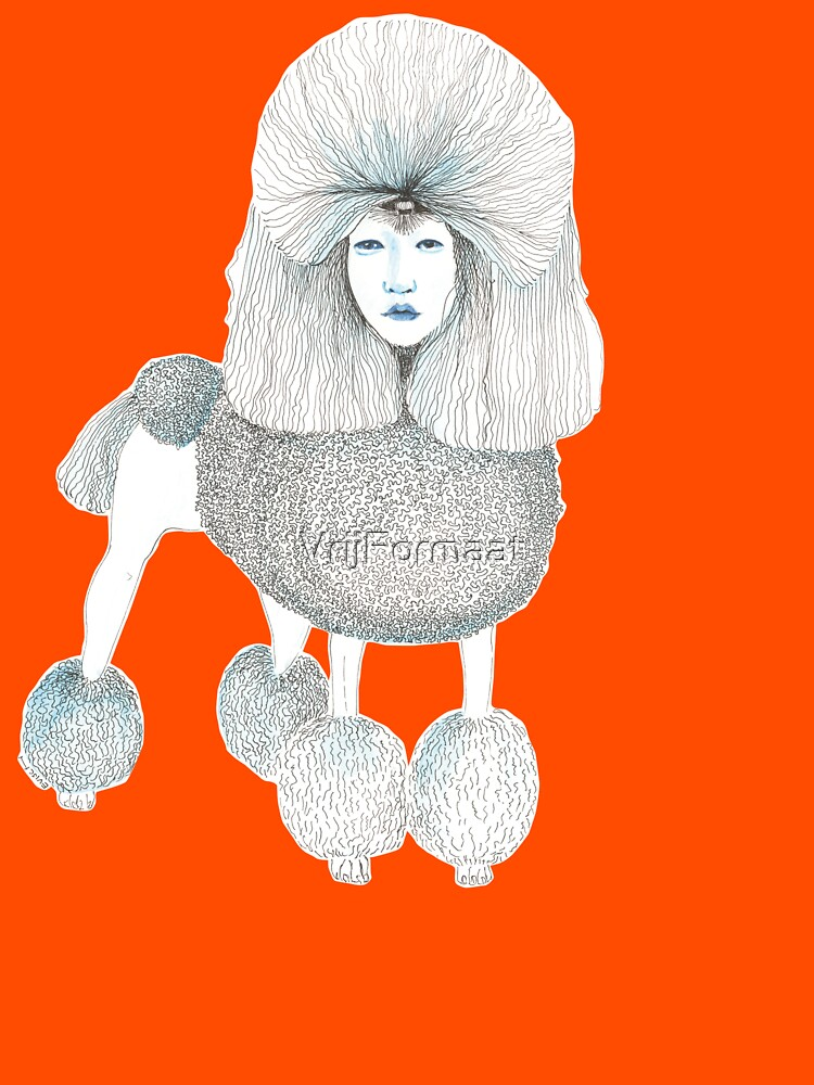 Weird poodles - Lady boy by VrijFormaat