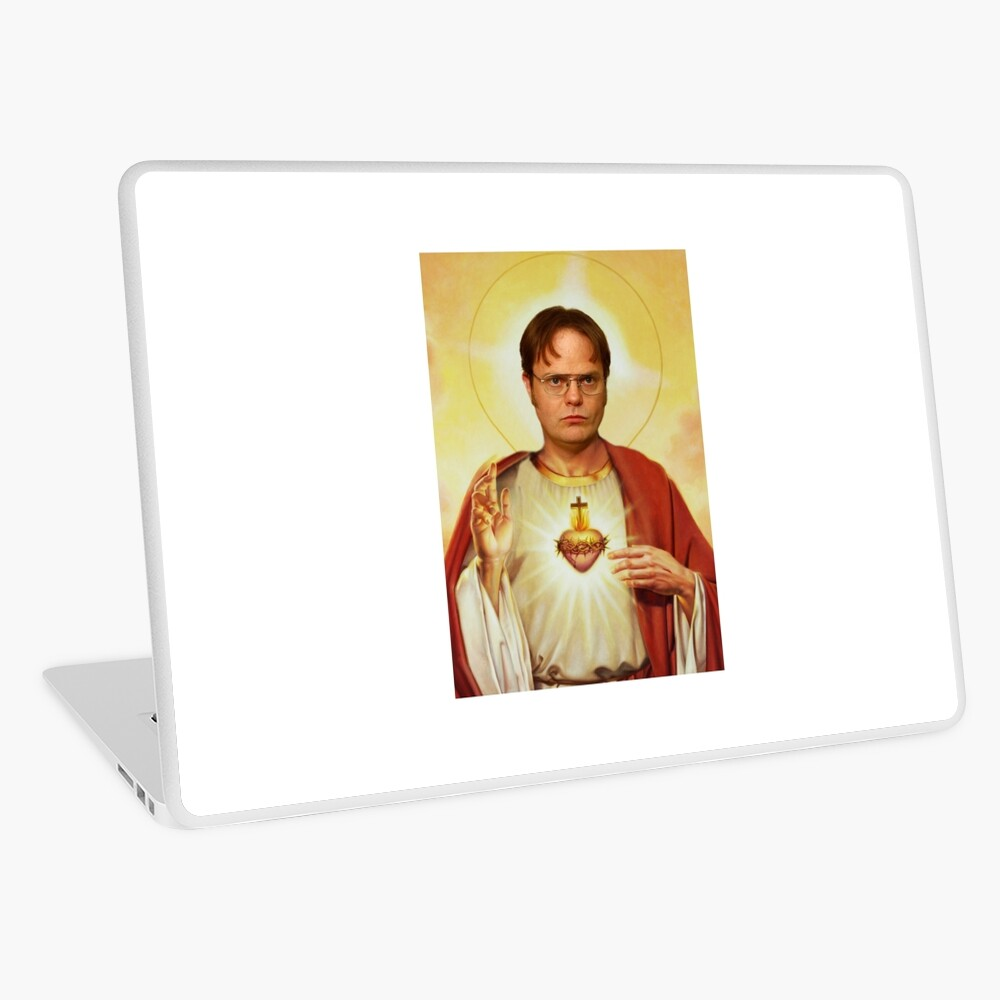 Heilige Dwight Laptop Folie