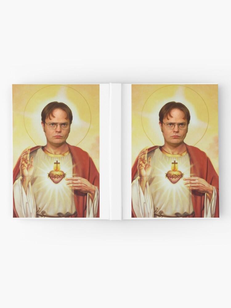 Alternative Ansicht von Heilige Dwight Notizbuch