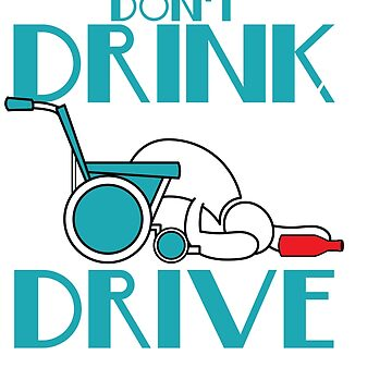 """Stay alert and avoid chances of accidents with this awesome tee with text """"Don't Drink And Drive"""" by Customdesign200"""