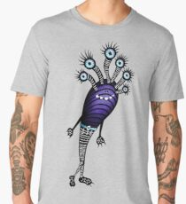 Funny Monster With Fancy Pants Men's Premium T-Shirt