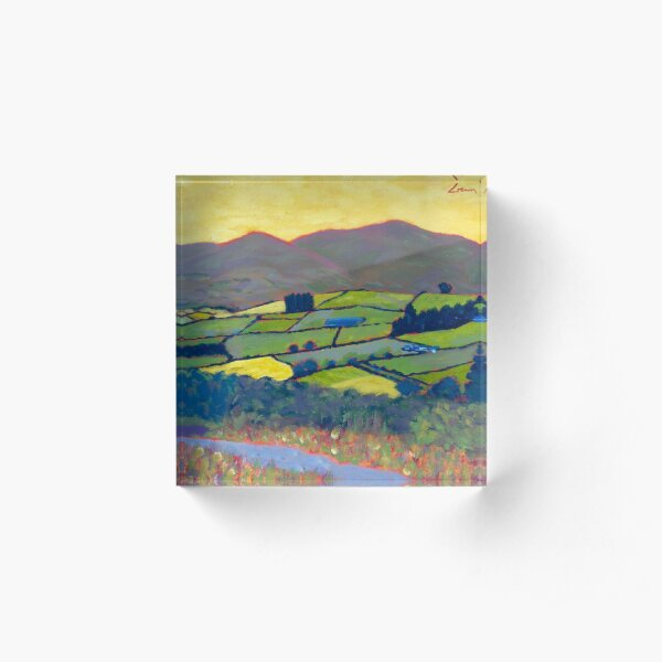 East Kilkenny, Ireland Acrylic Block