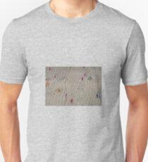 White Knit Rainbow Flecks T-Shirt