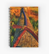 """""""Crossed Wires"""" Spiral Notebook"""