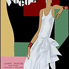 VOGUE : Vintage 1919 Magazine Advertising Print by posterbobs