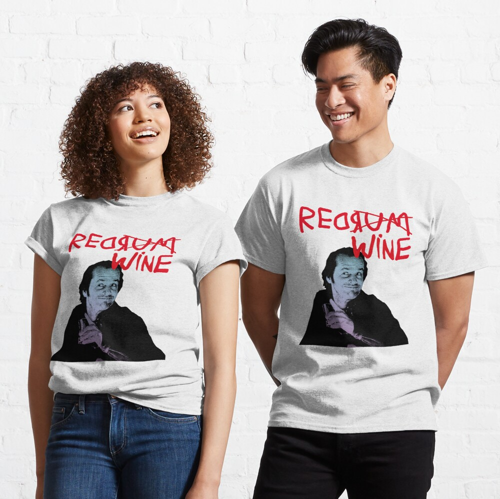 RED RUM RED WINE (JACK) Classic T-Shirt