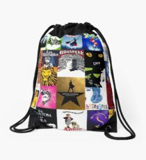 Musicals Collage III Drawstring Bag