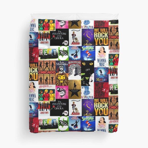 Musicals Collage III Duvet Cover