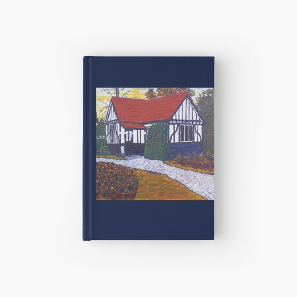 The Lodge, Phoenix Park Racecourse, Dublin, Ireland Hardcover Journal