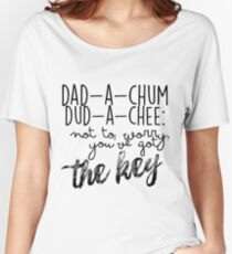 Camiseta ancha para mujer Dad-a-chum - La Torre Oscura