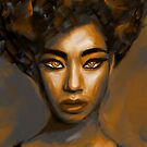 Fine Art portrait by Nora Gad