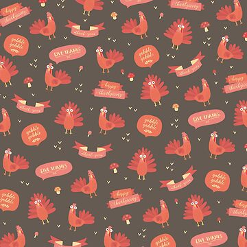 Thanksgiving pattern. by melomania