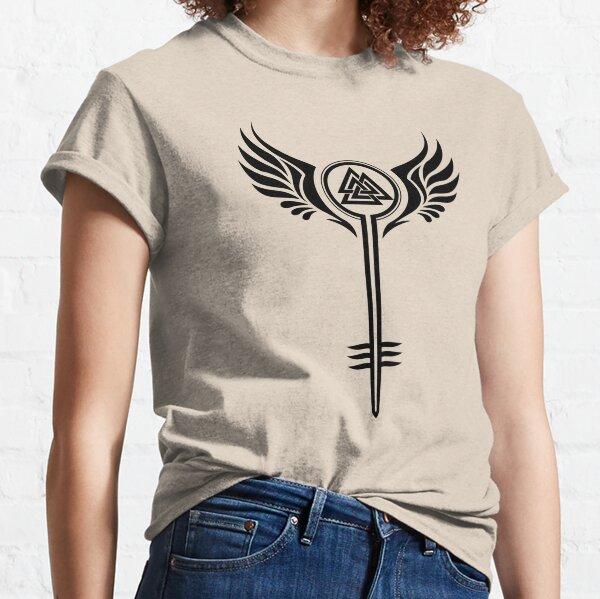 Valkyrie Symbol Classic T-Shirt