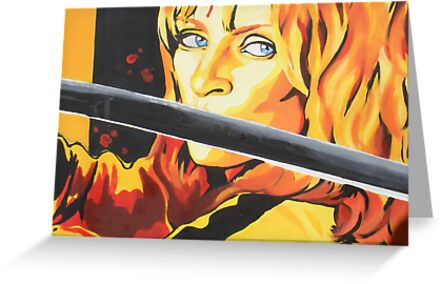 Kill Bill: The Bride by artistjanebush