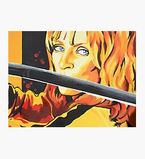 Kill Bill: The Bride Photographic Print