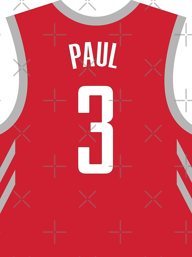 best website 5ccf9 75758 Chris Paul Red Rockets Jersey