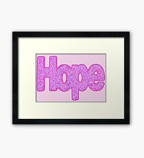 """Hope"" Framed Print"