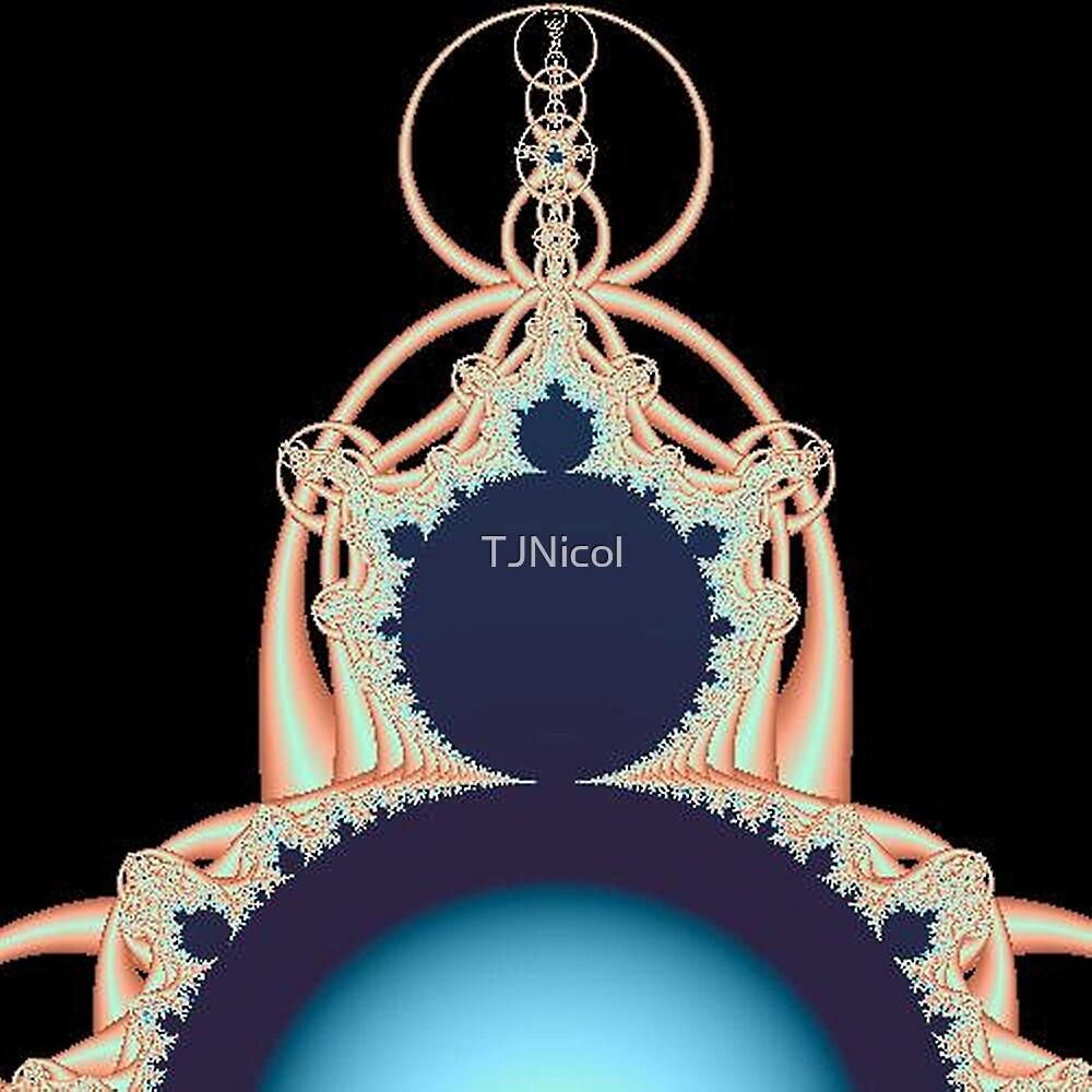 Fractal art 7 (b) by Tammi Nicol