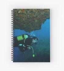 Under Rock Spiral Notebook