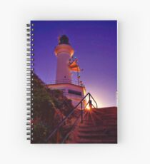 """Stairway to the Light"" Spiral Notebook"