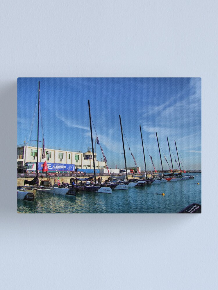 Alternate view of parade Canvas Print