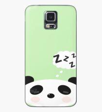 Funda/vinilo para Samsung Galaxy Durmiendo panda kawaii