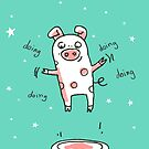 Glücksschweinchen Trampolin Workout von Judith Ganter