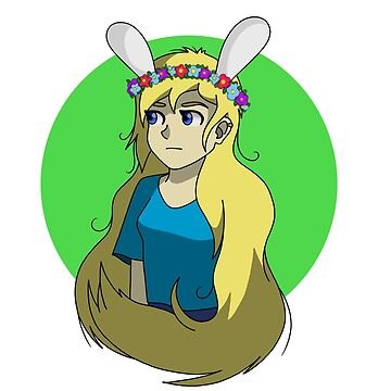 Fionna the Human by bambi-drawings