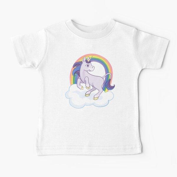 Rainbow Unicorn Baby T-Shirt