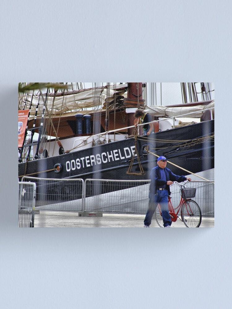Alternate view of Docks Canvas Print