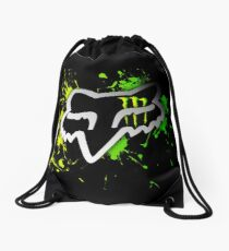 Awesome Fox Racing watercolour Drawstring Bag