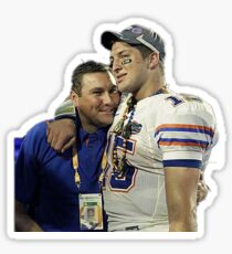 Dan Mullen and Tim Tebow Love Sticker