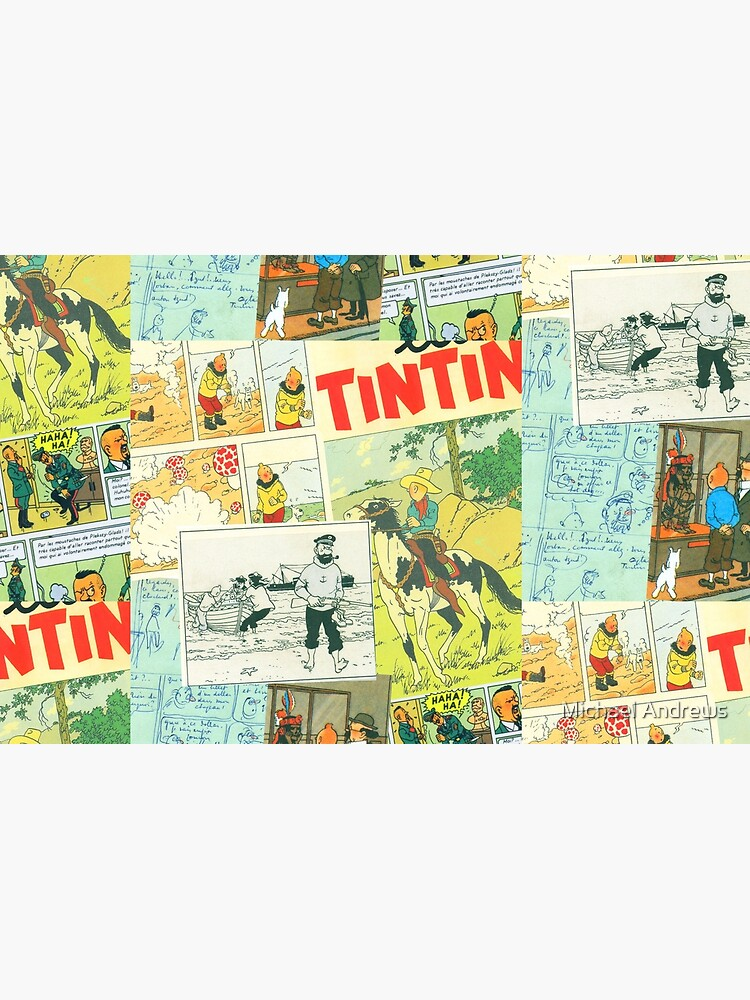 tintin collage 3 by AndrewsGamarra