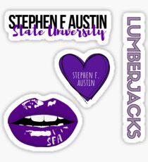 Stephen F. Austin State University SPIRIT PACK Sticker