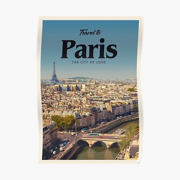 Visit Paris  Poster