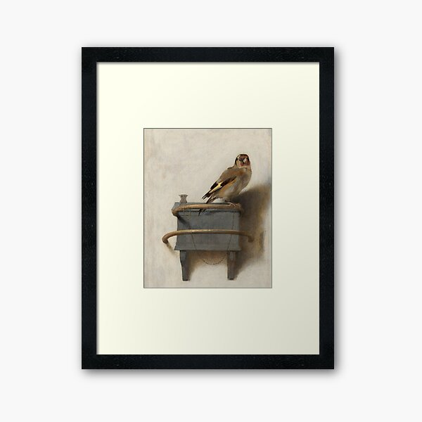 The Goldfinch by Carel Fabritius Framed Art Print