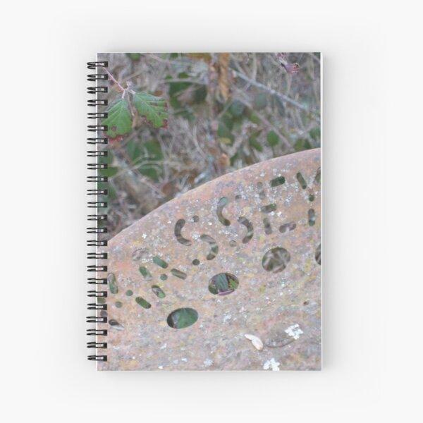Massey tractor seat Spiral Notebook