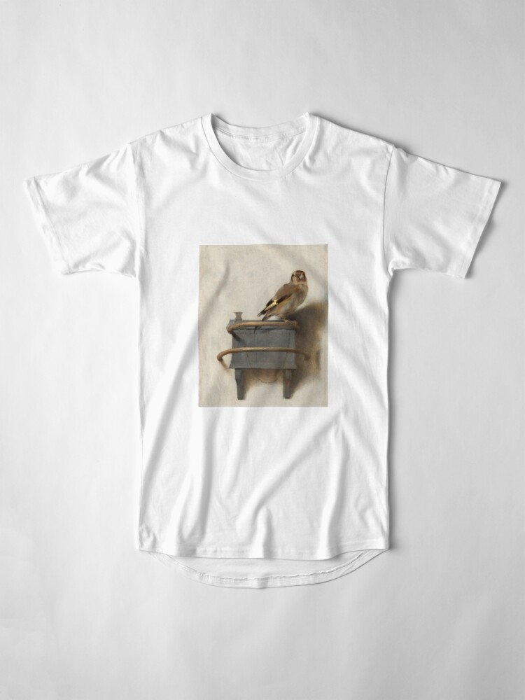 Alternate view of The Goldfinch by Carel Fabritius Long T-Shirt